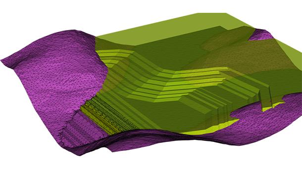 Represente superfícies 3D complexas